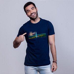 Camiseta Farol de Mãe Luíza  Azul Marinho