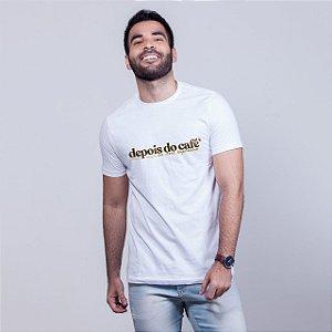 Camiseta Depois do Café Branca