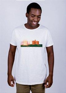Camiseta Estonada A Fio Castelo di Bivar Off White