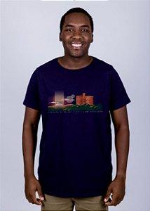Camiseta Castelo di Bivar Azul Marinho