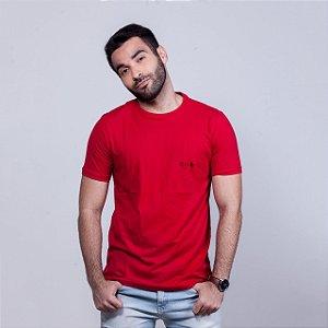 Camiseta Stq Básica Vermelha