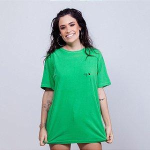 Camiseta Estonada Stq Básica Verde