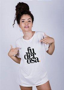 Camiseta Estonada Fuderosa Grunge Off White