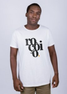 Camiseta Estonada Roçôio Grunge Off White