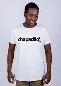 Camiseta Estonada Chapadão Batendo Perna Off White
