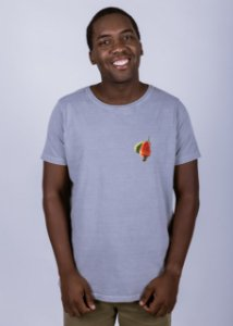 Camiseta Estonada Caju-da-casa Cinza