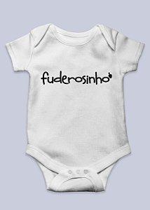 Body Infantil Fuderosinho Branco