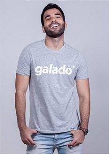 Camiseta Galado Branco Mescla