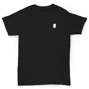 T-SHIRT MONKEY LOGO BLACK