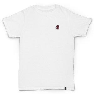 T-SHIRT MONKEY LOGO WHITE