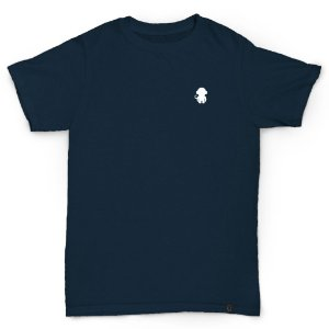 T-SHIRT MONKEY LOGO NAVY