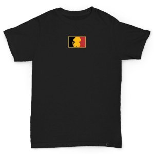 T-SHIRT BELGIUM BLACK