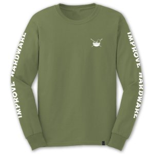 LONGSLEEVE POKE MILITARY GREEN