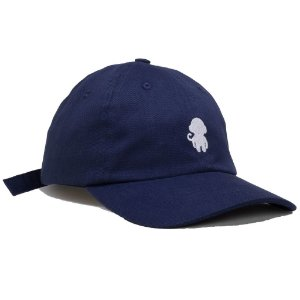 DAD HAT MONKEY LOGO NAVY