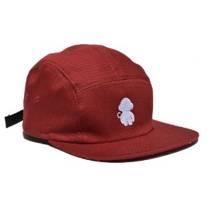 BONÉ 5 PANEL OG - BORDÔ
