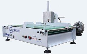 Mini esteira com carimbo automático inkjet EST-040