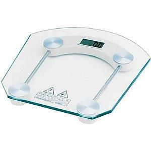 Balança Digital Vidro Temperado até 180kg Para Banheiro, Academia / Fitness, etc