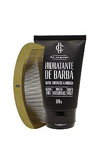 Kit para a Barba: Hidratante de Barba + Pente CIA. DA BARBA