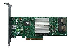 0HV52W - Controladora Dell Perc H310 Sas/Sata 2X SFF-8087 8 Portas 6GB/S Raid 0/1/5/10/50 Pci-E X8 com cabo incluso