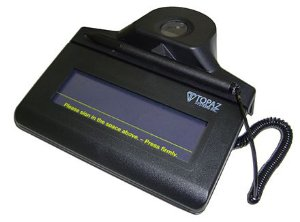 Coletor de Assinatura Topaz Systems TF-S463 Modelo Série IDLITE 1X5 Com Biometria