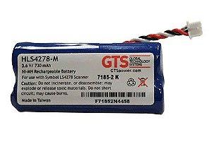 HLS4278-M - Bateria GTS Para o Scanner Symbol LS 4278 Nimh 3.6VDC, 730mAh