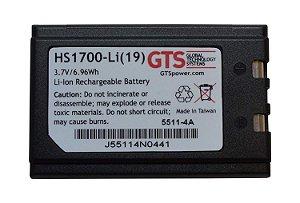 HS1700-LI (19) - Bateria GTS Para Symbol SPT1700 / SPT1800 / PPT2700 / PPT2800 / PDT8100