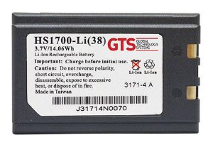 HS1700-LI(38) - Bateria GTS Para Symbol SPT1700 / SPT1800 / PPT2700 / PPT2800 / PPT8800 / PPT8846 / PDT 8100