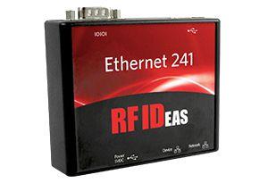 Comutador Ethernet 241 ™ RFIDeas de Duas Portas para Impressão Segura