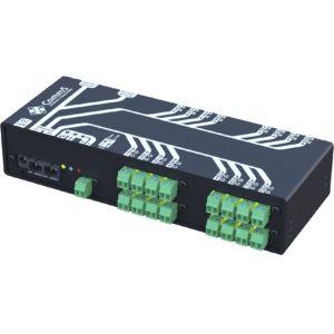 MA-53042FX Módulo de Acionamento via rede fibra ótica 100Base-FX com 16 saídas, 16 entradas e 4 Seriais