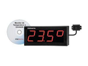Monitor de Temperatura e Umidade Relativa Para Data Center - Kit Term-2S