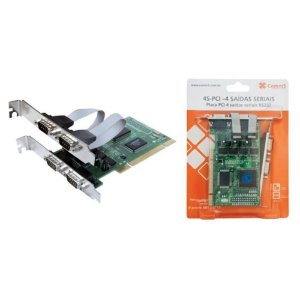 4S-PCI - Placa Comm5 PCI 4 Saídas Seriais RS232