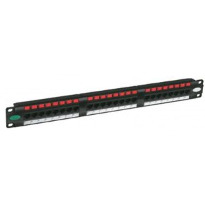 35030162 - Patch Panel Gigalan CAT.6 24 Posições T568A/B Furukawa