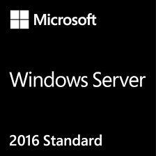 Windows Server STD 2016 64Bits Brazilian 1PK DSP OEI DVD 16Core - P73-07108 M ES