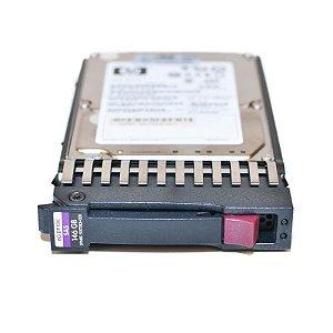 507283-001 - HD Servidor HP 146GB 6G 10K 2.5 SAS