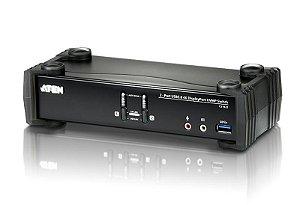 CS1922 Switch USB 3.0 4K DisplayPort KVMP™ de 2 Portas (Cabos incluídos)