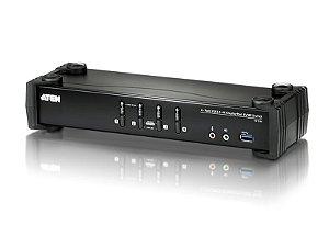 CS1924 Switch USB 3.0 4K DisplayPort KVMP™ de 4-Portas