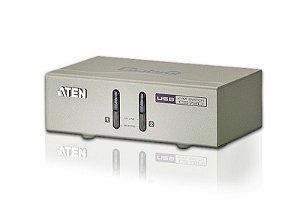 CS72U Comutador KVM de 2 portas USB VGA/Áudio