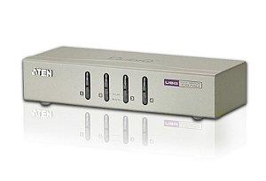 CS74U Comutador KVM de 4 portas USB VGA/Áudio