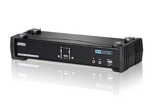 CS1782A Switch USB DVI Dual Link/CH7.1 Audio KVMP™ de 2 portas