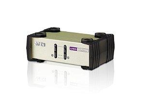 CS82U Comutador KVM de 2 portas PS/2-USB VGA