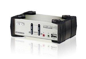 CS1732B Switch PS/2-USB VGA/Audio KVMP™ de 2 portas com OSD