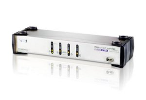 CS1744 Switch USB VGA Dual Display/Audio KVMP™ de 4 portas