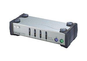 CS84A Comutador KVM de 4 portas PS/2 VGA