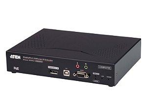 KE9952T Transmissor 4K DisplayPort de ecrã individual KVM Sobre IP com PoE