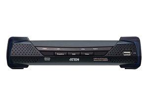 KE6910R 2K DVI-D Dual Link KVM sobre receptor IP
