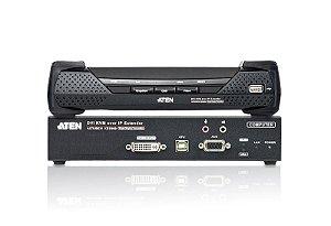 KE6900 Extensor KVM sobre IP USB de exibição única DVI-I