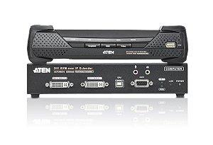 KE6940 Extensor KVM sobre IP USB DVI-I de exibição dupla