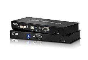 CE600 Extensor KVM USB DVI Cat 5 (1024 x 768 a 60m)