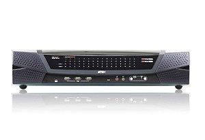 KN8164V Comutador 1 local / 8 remoto com 64 portas Cat 5 KVM sobre IP com mídia virtual (1920 x 1200)