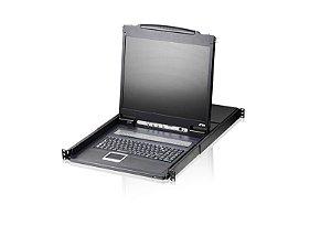CL1308 Comutador KVM LCD de 8 portas PS / 2-USB VGA